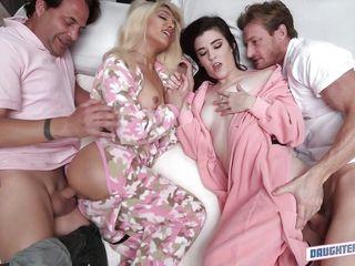 Порно со спавшей зрелой русское